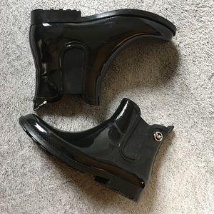 NWOT Michael Kors Black Short Rain Boots